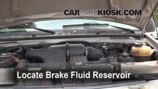 1990-2007 Ford E-150 Econoline Club Wagon Brake Fluid Level Check