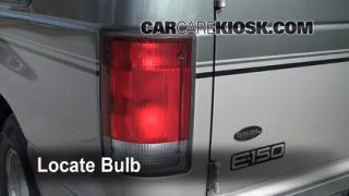 2001 Ford E-150 Econoline Club Wagon XLT 5.4L V8 Lights Reverse Light (replace bulb)