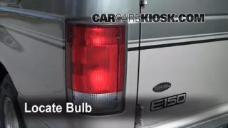 Tail Light Change 1990-2007 Ford E-350 Club Wagon