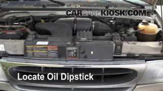 Check Oil Level 1990-2007 Ford E-150 Econoline Club Wagon