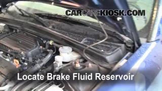 2001-2005 Honda Civic Brake Fluid Level Check