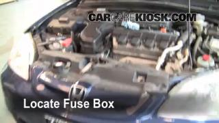 Blown Fuse Check 2001-2005 Honda Civic