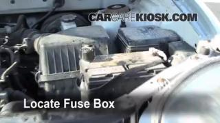 Blown Fuse Check 2001-2006 Hyundai Santa Fe