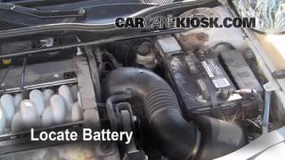 How to Clean Battery Corrosion: 1995-2002 Lincoln Continental