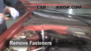2001 Mazda Tribute DX 3.0L V6 Air Filter (Cabin) Check