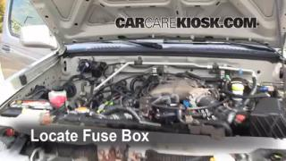 Blown Fuse Check 1998-2004 Nissan Frontier