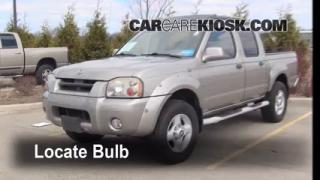 2001 Nissan Frontier SE 3.3L V6 Crew Cab Pickup (4 Door) Lights Fog Light (replace bulb)