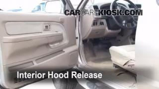Open Hood How To 1998-2004 Nissan Frontier