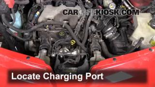 How to Add Freon in a 2001-2005 Pontiac Aztek