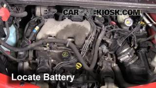 How to Clean Battery Corrosion: 2001-2005 Pontiac Aztek