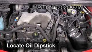 Check Oil Level 2001-2005 Pontiac Aztek