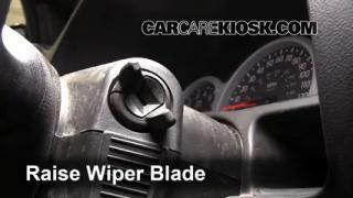 Front Wiper Blade Change Pontiac Aztek (2001-2005)