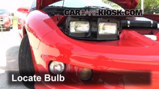 Highbeam (Brights) Change: 1993-2002 Pontiac Firebird
