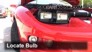 Parking Light Change 1993-2002 Pontiac Firebird