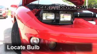 Front Turn Signal Change Pontiac Firebird (1993-2002)