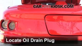 Oil & Filter Change Pontiac Firebird (1993-2002)