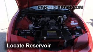 Check Windshield Washer Fluid Pontiac Firebird (1993-2002)