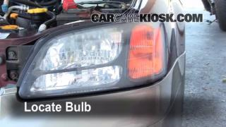 Headlight Change 2000-2004 Subaru Legacy
