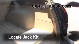 2000-2004 Subaru Outback Jack Up How To