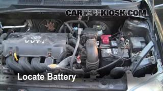 Battery Replacement: 2000-2005 Toyota Echo