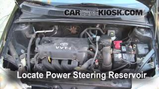 Follow These Steps to Add Power Steering Fluid to a Toyota Echo (2000-2005)