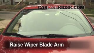 Front Wiper Blade Change Toyota Echo (2000-2005)