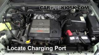 2001 Toyota Highlander 3.0L V6 Air Conditioner Recharge Freon