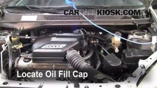 How to Add Oil Toyota RAV4 (2001-2005)