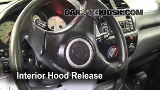 Open Hood How To 2001-2005 Toyota RAV4