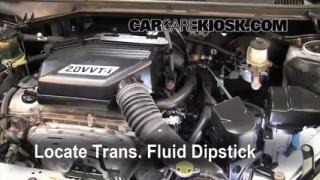 Transmission Fluid Level Check Toyota RAV4 (2001-2005)