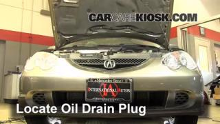 Oil & Filter Change Acura RSX (2002-2006)