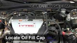 How to Add Oil Acura RSX (2002-2006)