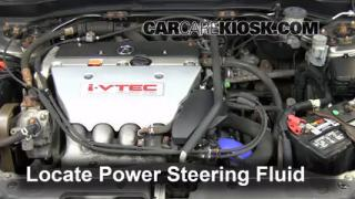 2002 Acura RSX Type-S 2.0L 4 Cyl. Power Steering Fluid Add Fluid