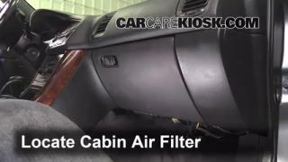 2002 Acura TL 3.2L V6 Air Filter (Cabin) Replace