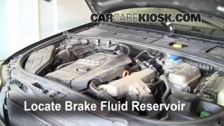 Add Brake Fluid: 2002-2008 Audi A4 Quattro