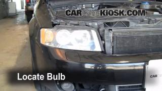 Headlight Change 2002-2008 Audi A4 Quattro