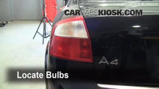 Tail Light Change 2002-2008 Audi A4 Quattro