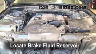 2002 BMW 325i 2.5L 6 Cyl. Sedan Brake Fluid Check Fluid Level