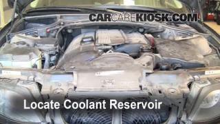 Coolant Level Check: 1999-2006 325i