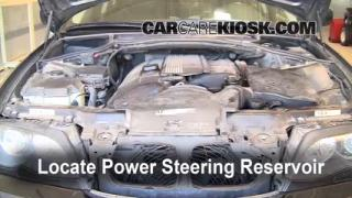 2002 BMW 325i 2.5L 6 Cyl. Sedan Power Steering Fluid Fix Leaks