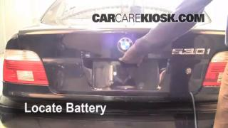 Battery Replacement: 1997-2003 BMW 530i