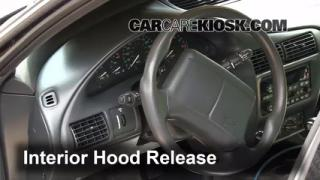 Open Hood How To 1995-2005 Chevrolet Cavalier