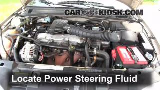 Follow These Steps to Add Power Steering Fluid to a Chevrolet Cavalier (1995-2005)