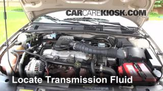 Add Transmission Fluid: 1995-2005 Chevrolet Cavalier