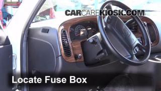 1994-2003 Dodge Ram 1500 Van Interior Fuse Check