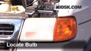 Parking Light Change 1994-2003 Dodge Ram 1500 Van