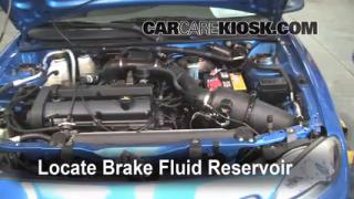 Add Brake Fluid: 1997-2003 Ford Escort