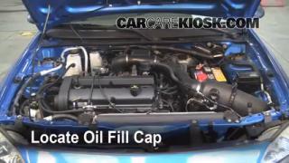 2002 Ford Escort ZX2 2.0L 4 Cyl. Oil Add Oil