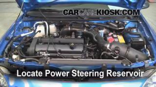 Follow These Steps to Add Power Steering Fluid to a Ford Escort (1997-2003)