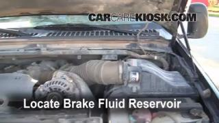 1999-2007 Ford F-250 Super Duty Brake Fluid Level Check